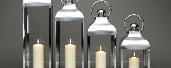 lanterne inox